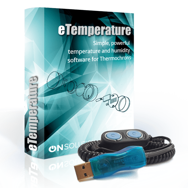 Thermochron Reader and eTemperature software